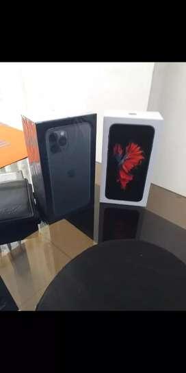 iPhone 11 pro verde y iPhone 6s