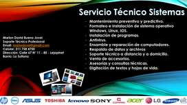 Servicio Técnico Sistemas
