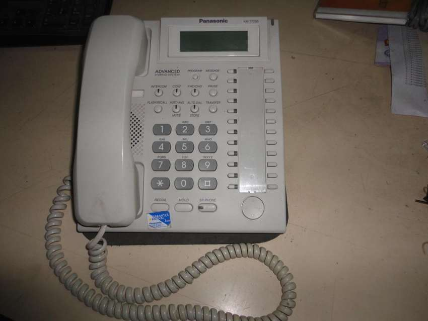 Telefono Inteligente Panasonic Kxt 7735 6.000