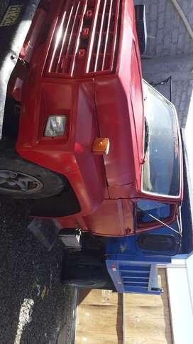 Vendo volquete ford  con motor nissan  fd6