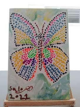Cuadro Mini Mariposa