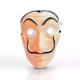 Máscara la casa de papel halloween