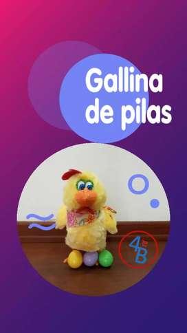 gallina canta y baila