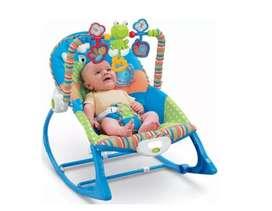 Silla Vibración Mecedora Bebe Niño Niña