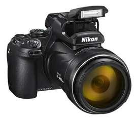 Cámara Nikon Coolpix P1000 Supertelefoto 4K 16mp