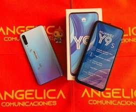 HUAWEI Y9S 128gb nuevos con factura garantia domicilio sin  costo ANGELICA COMUNICACIONES