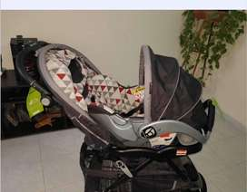 Coche + car seat BABY TREND
