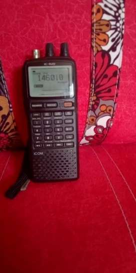 radio  icom icr 20
