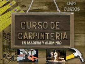 Curso Carpinteria Madera Y Aluminio 3x1