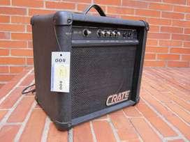 Amplificador Para Bajo, Crate Bx-15