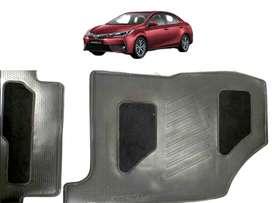 Set Tapetes/cubre Alfombras Original Toyota Corolla modelos 2014 al 2017