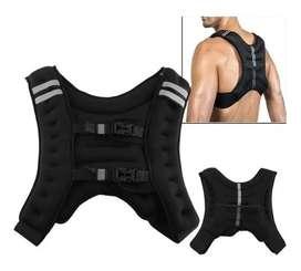 Chaleco De Peso Entrenamiento Crossfit 10 Kg Fitness Gym
