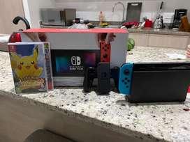 New Nintendo Switch Mas 2 Juegos 10/10