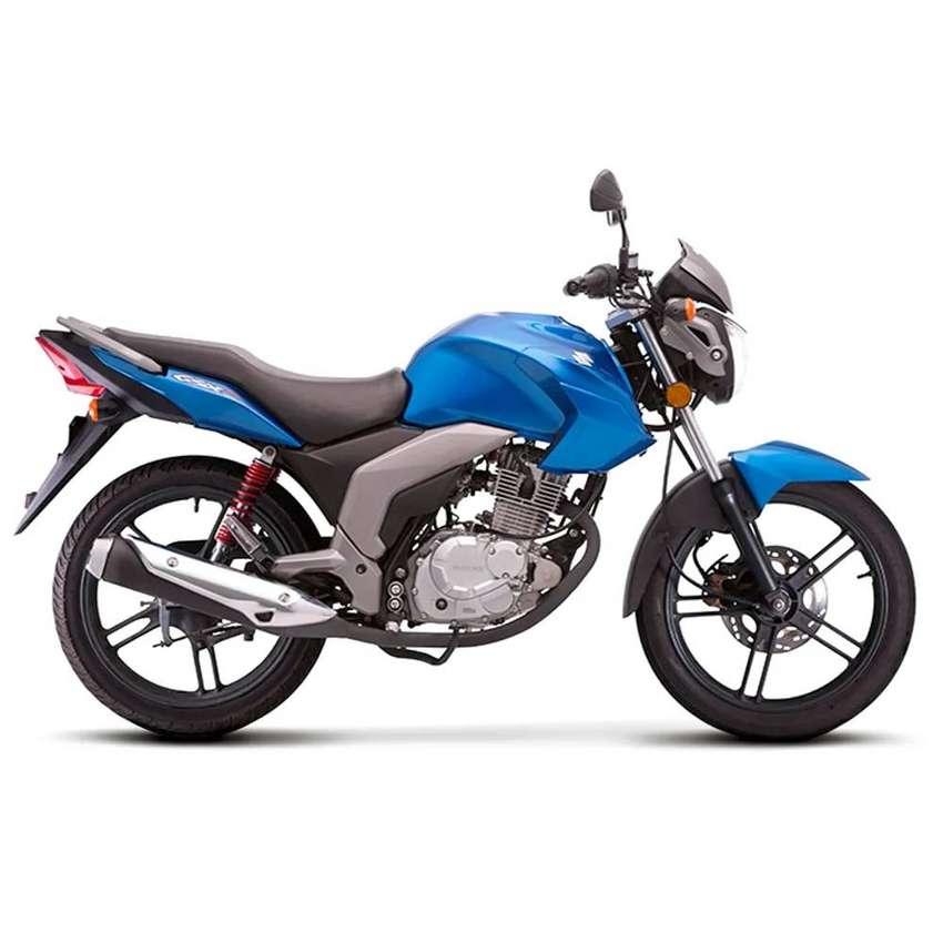 Suzuki modelo GSX125, 5 velocidades 0