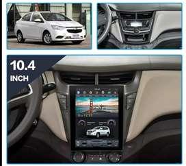 Pantalla Tesla Android para Chevrolet Sail