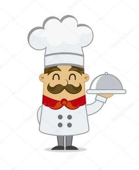 Necesito cocinero con experiencia