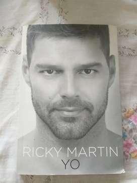 Libro Ricky MartinYo