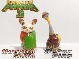 Kung Fu Panda 3 - Minifiguras De Colección (Maestro Shifu & Señor Ping)