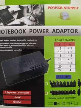 Cargador para notebook universal