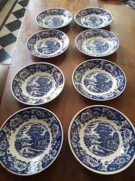 Platos de porcelana lozadur festival