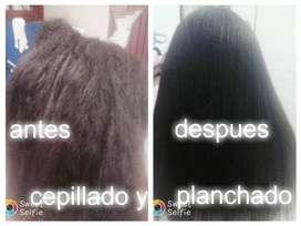 sala de belleza adri les ofrece corte cepillado planchado reporalizacion de cabello tintes rayitos alisados