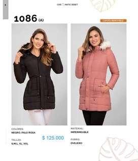 Divinas chaquetas impermeables para dama