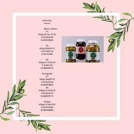 Vendo aceite de oliva extra Virgen y aceitunas