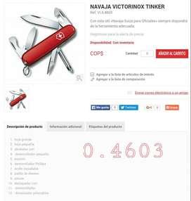 Navaja Victorinox Tinker Ref  0.4603