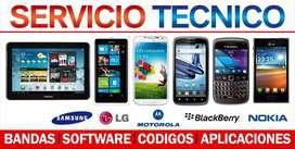 servicio tecnico computadoras impresoras, telefonos celulares, tv etc
