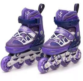 Patines Roller Skates,casco,protectores.