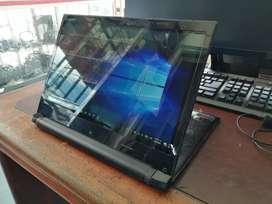 Portátil-Tablet Lenovo Intel Touchscreen Flex 14 pulgadas LED FHD, Windows 10 64 bits