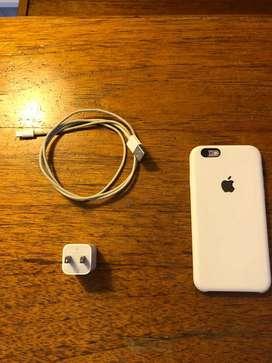 Vendo iPhone 6 de 64 gb, excelente estado.