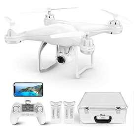 Drone Potensic T25 Original  GPS FPV RC Drone CON Cámara video en vivo y GPS, retorno a casa, 4 hélices,  visión AMPLIA