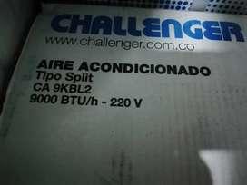 Aire acondicionado Challenger 9.000 btu