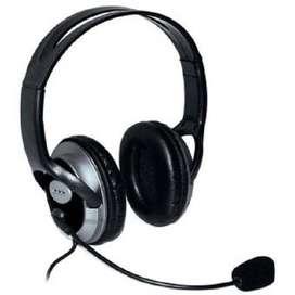 Audifonos Diadema X-KIM HF-868U estereo Usb