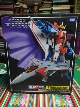 Transformers caja Starscream masterpiece takara Tomy