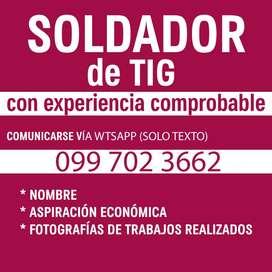SOLDADOR DE TIG