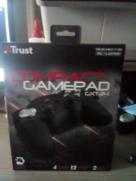 Control para Pc/Laptop Trust Gxt 24 Compact Negro