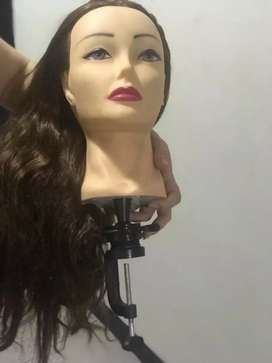 Cabezas para practica de peluquería