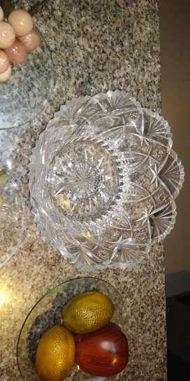 Centro mesa cristal