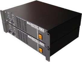 POTENCIA AMPLIFICADOR 800 Watts MACROTEC NUEVA 11-3784- 2596 Garantia 6 MESES 4672-3506