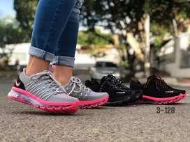 Zapato Tennis Deportivo Nike Airmax Para Dama