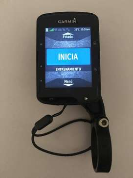 GARMIN EDGE 520 PLUS GPS CON SOPORTE DE EXTENSIÓN, CARGADOR DE PARED Y CABLE DE CARGA