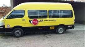 Oportunidad de venta furgoneta escolar