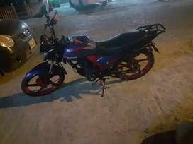 Vendo moto Shineray año 2015