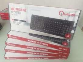 Teclado USB QUASAD multimedia