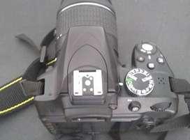 Camara de fotos Nikon D3300 Profesional.