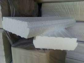 Ladrillos de telgopor de 10x42x100  y 12x42x100.