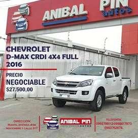 CHEVROLET D-MAX CRDI 4X4 FULL 2016