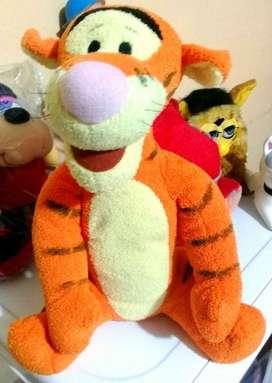 PELUCHE TIGER VINTAGE DISNEY ORIGINAL